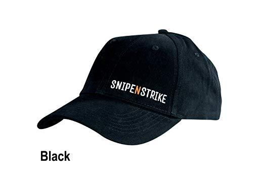 SnipeNstrike Cap Gorra, Hombre, Negro, Talla única: Amazon.es ...