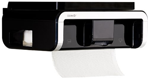 Clean Cut Touchless Paper Towel Dispenser, Black by Cleancut by Cleancut