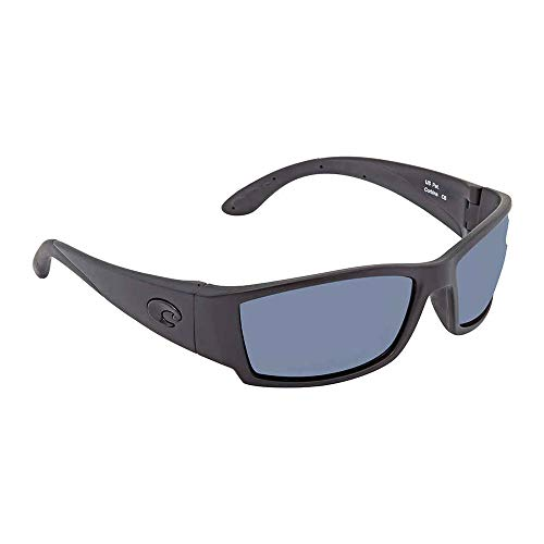 Costa Del Mar Corbina Sunglass, Blackout/Gray 580Plastic