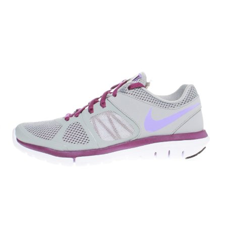 Nike Herren MD Runner 2 Low-Top Sneaker Grau (Wolf Grey/Atomic Volt/Bright Grape/White)