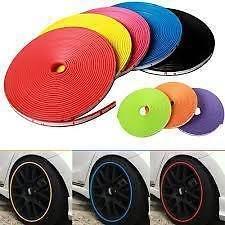 SILVER Alloy Wheel Protector 13 14 15 16 17 18 19 20 21 22  Trim Rim Blades