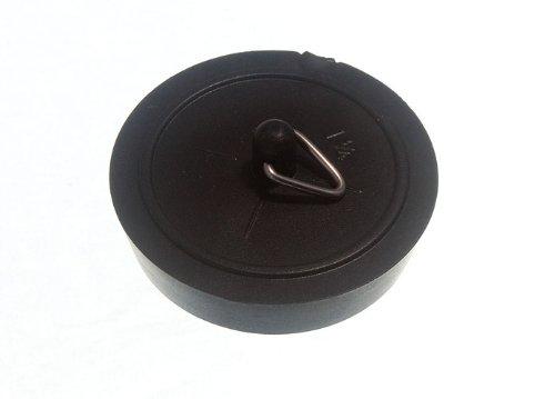 200 X Basin Plug Black 38Mm 1 1/2 Inch by DIRECT HARDWARE