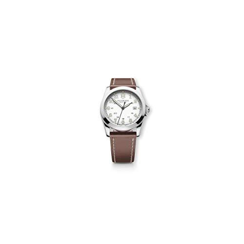 Victorinox Unisex 241564 Infantry Analog Display Swiss Quartz Brown Watch