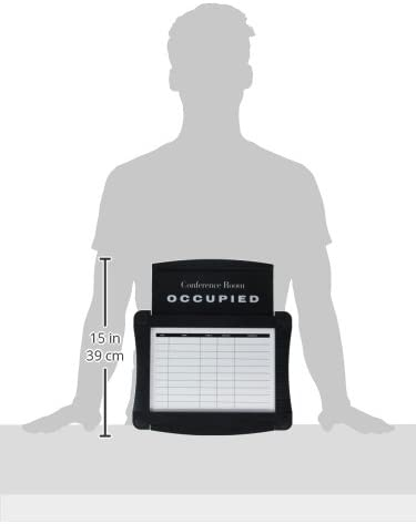 Dry-Erase Conference Room Scheduler, 15 1/2 x 14 1/4, White, Gray Frame, Sold as 1 Each