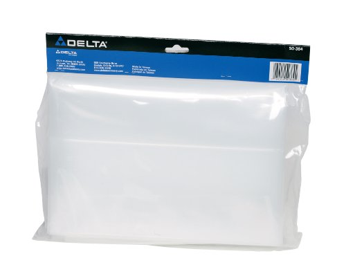 DELTA 50-364 Dust Collection Plastic Bag - 2 Pack (Delta 50 760 Dust Collector Replacement Bags)