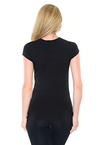 "Purpless Maternity ""Skeleton"" - Camiseta Para Embarazada B2016 BlackG"
