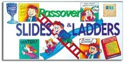 Passover Slides and Ladders Board Game by Jewish Educational Toys