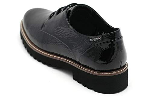 Femme Lacets Chaussures Noir Mephisto à Ville pour de n4zqIY
