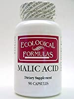 Ecological Formulas - Malic Acid 600 mg 90 caps by Ecological Formulas