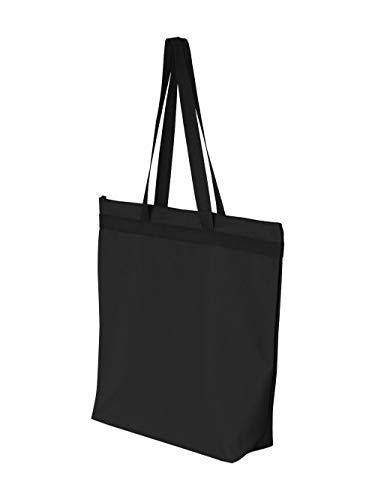 Liberty Bags Adult Large Tote with Zipper Closure