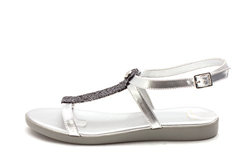 Cole Haan Womens CH1791 Open Toe Special Occasion Slide Sandals Ch Argento x9ju3lDC