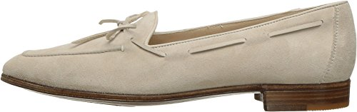 Gravati Womens Bowed Velukid Slip-On Loafer Sand EGy8CTB62