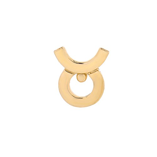 Mini Mini Jewels 14k Fine Yellow Gold High Polish Trendy Taurus Zodiac Post Single Earring