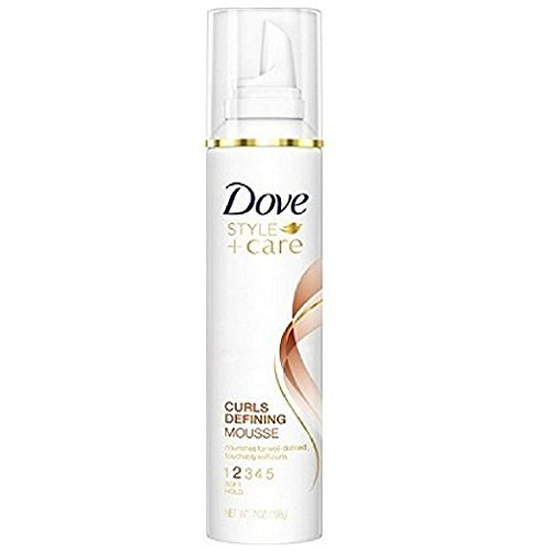 Dove STYLE+care Curls Defining Mousse, Soft Hold 7 - Curly Mousse Style Hair