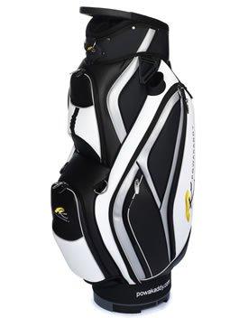 Powakaddy - Bolsa de carro para palos de golf Black/Silver ...