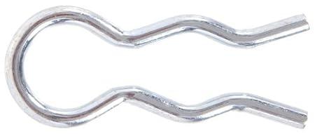The Hillman Group 3679 3//32-Inch External Hair Pin Clip Zinc Plated 25-Pack