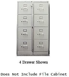 Locking Bar for Use with 5 Drawer Filing Cabinet (cabinet not included)
