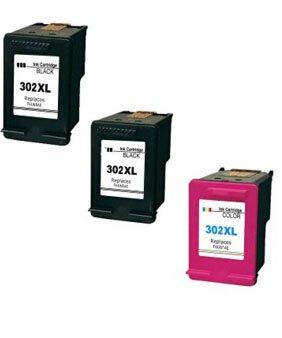 compatible para HP 302 X L cartucho de tinta remanufacturado ...