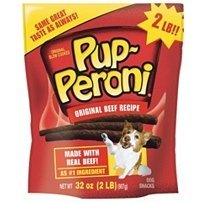 Pup-Peroni Dog Snacks, Original Beef Flavor, 32 oz (Pack of 3)