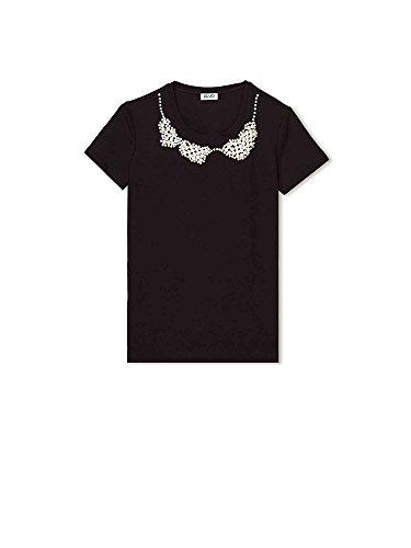 Liu-jo F18275J5003 T-shirt Donna Nero Xl
