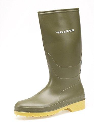 Dunlop - Botas de agua de sintético infantil Verde