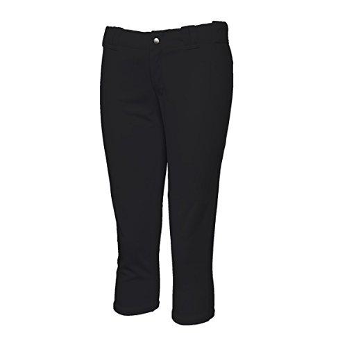 3N2 Girls / Youth Softball Pants, Black, Youth Medium