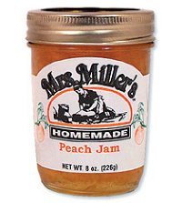 Peach Jam - Mrs. Miller's Homemade Peach Jam