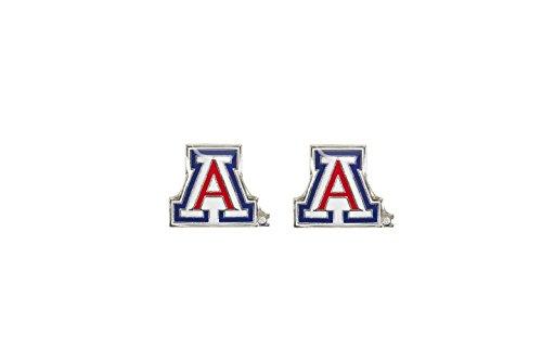 NCAA Arizona Wildcats Post Earrings
