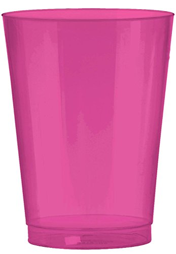 Amscan 350363.103 Party Supplies, 10 oz, Pink