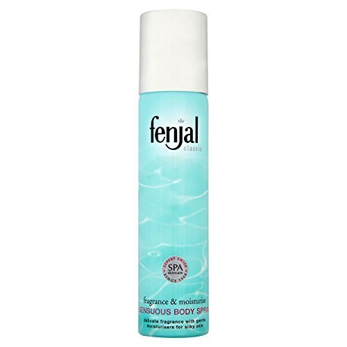 Classic Body Spray - 6 x Fenjal Classic Sensuous Body Spray 75ml by Fenjal