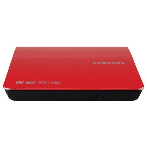 Samsung External Slim Optical Drive SE-208DB/TSRS Red