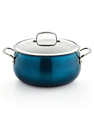 Belgique 3-Qt. Soup Pot with Lid, Blue