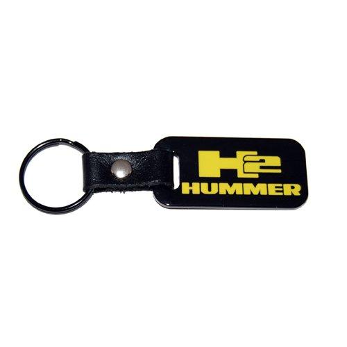 hummer h2 black keychain - 5