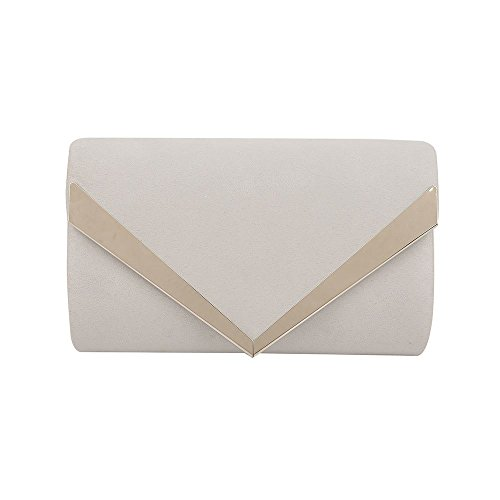 Envelope Suede Women Wedding Ladies Silver Glamour Prom Hotstylezone Purse Clutch Bag Party Wedding Evq5w