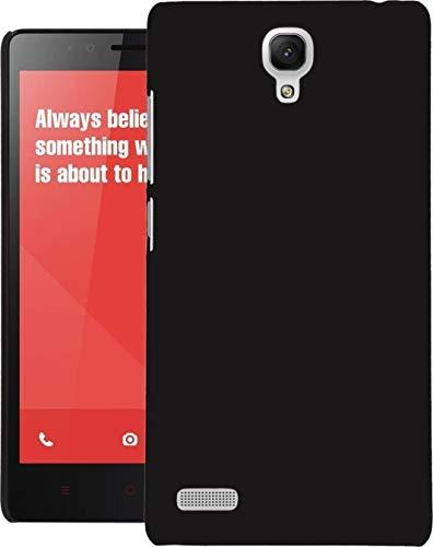 COVERNEW Plastic Back Cover Xiaomi Redmi Note Prime   Black