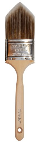 - Styletto 00232 3-Inch Precision Brush for Trimming and Edging