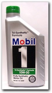 Mobil 1 fully synthetic oil