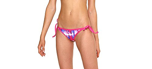 GlideSoul 0.5 mm Tie Dye - Bañador para mujer, color rosa (Violet print/Pink), talla XS Rosa - Pink-Violet/Pink