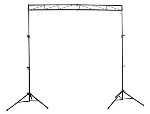 Odyssey LTMTS8 8 Feet Portable Mobile Dj Truss Kit Lighting Stand and Truss Package