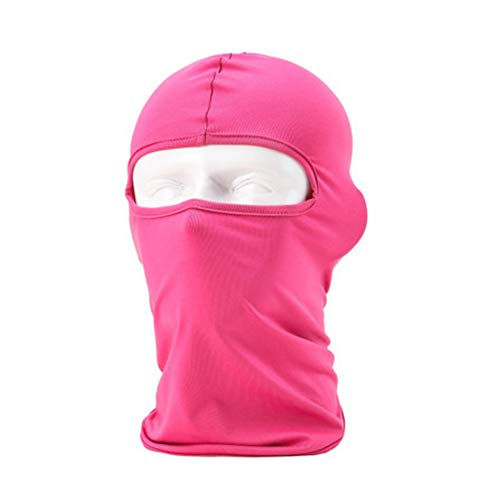 Meanhoo Ultra-thin headband Face Mask with Anti-UV and Anti-sun for Ski Bike Bicycle Outdoor(rose Red) for $<!--$6.59-->