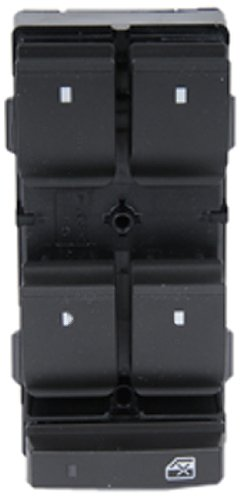 ACDelco D1954F GM Original Equipment Ebony Door Window Switch (Window Door Power Rear Switch)