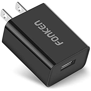 Quick Charge 3.0 FONKEN 18W USB Wall Charger Adapter (Quick Charge 2.0 Compatible) with Smart IC for Compatible Galaxy S7 S6 Edge Plus, Note 5/4, LG ...
