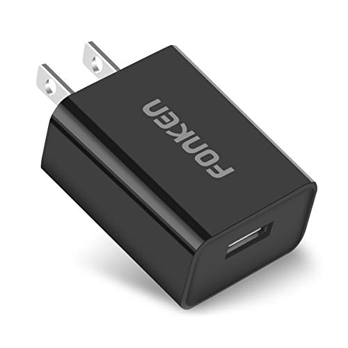 Quick Charge 3.0 FONKEN 18W USB Wall Charger Adapter (Quick Charge 2.0 Compatible) with Smart IC for Compatible Galaxy S7 S6 Edge Plus, Note 5/4, LG G5 V10, Nexus 6,HTC 10 and More (Black)