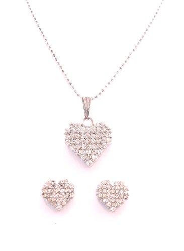 mejor selección fbedd baa3b TwinkleStar London Corazón de plata forma moda joyería ...