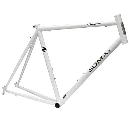 Amazon.com : Soma Smoothie Pearl White 58cm 92243 : Cycle Frames ...