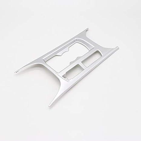 manija de puerta para T-Roc 2017 2018 Interior Molduras Mate Plata ABS pl/ástico