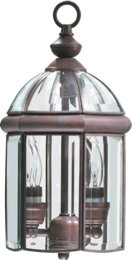 Wellsley Lantern Finish: Cobblestone (Cobblestone Two Light Pendant)