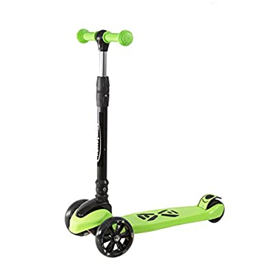 Scooter for Kids, Boys and Girls, Deluxe from 3 to 14 Years, Adjustable in 3 Levels, Balanced in 3 Wheels with Light and Resistant Rear Brake, high Cover, Non-Slip Surface, Excellent Gift : Sports & Outdoors