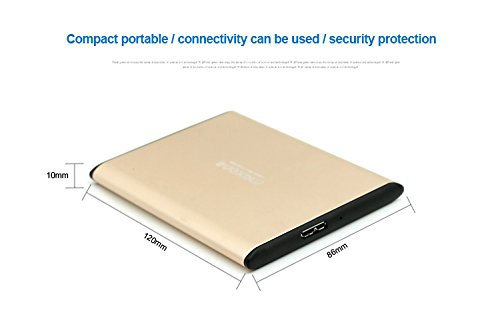 2.5'' 250GB/250G Portable External Hard Drive USB 3.0/2.0 For Laptop/Desktop/PS4 by Maxone (Image #8)