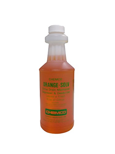 Industrial Drain Cleaner -Orange Solv Special By Chemco – Industrial Drain Cleaner – 3 Pints/Case